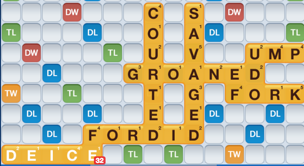 WWF finding words with the cheat