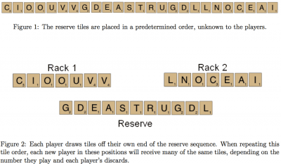 How much does luck affect a typical Scrabble game? | word-grabber