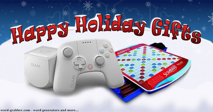 Happy Holidays Gifts week two