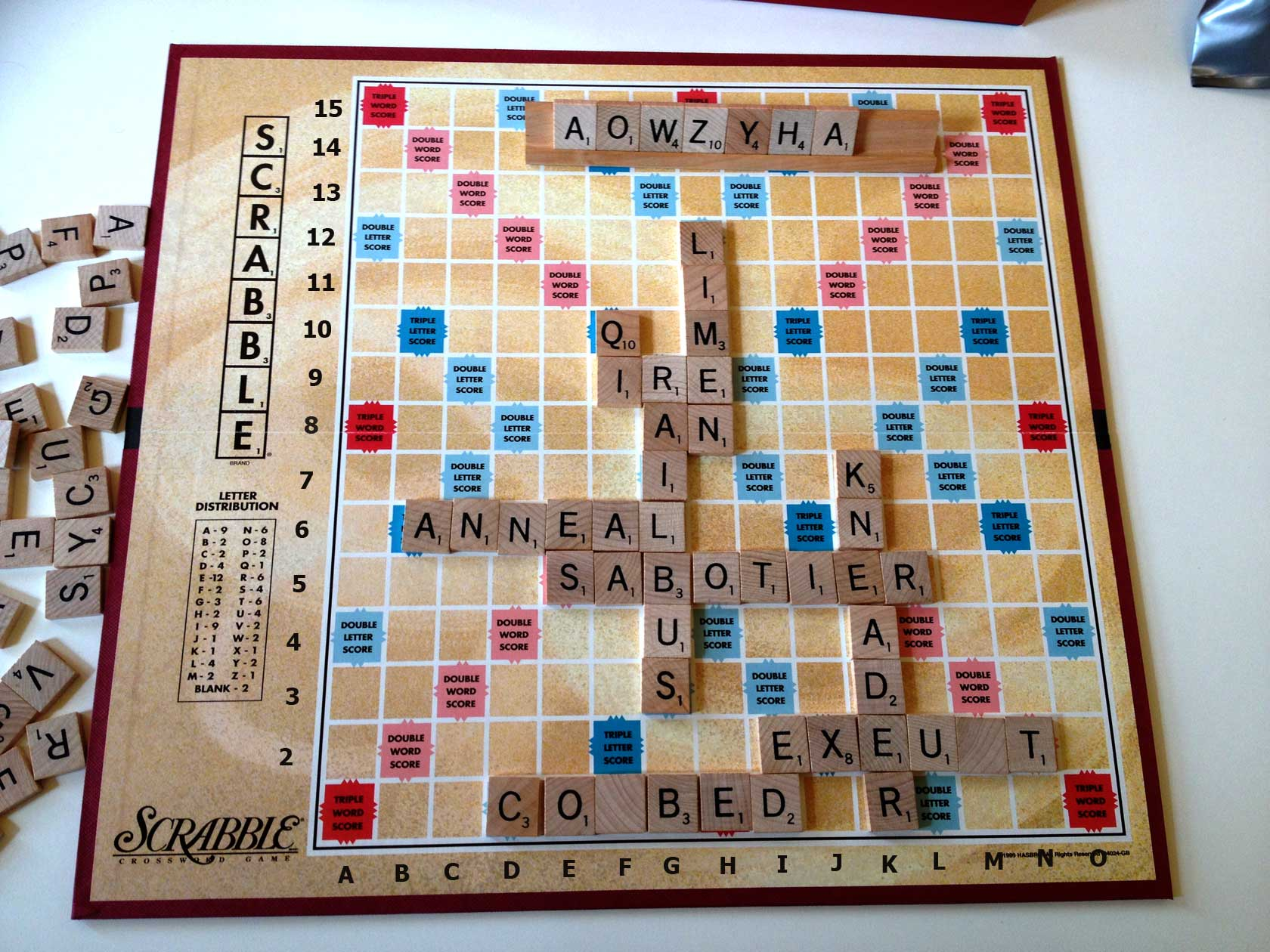 Beware The Ides Of March Scrabble Prize Draw Word Grabber