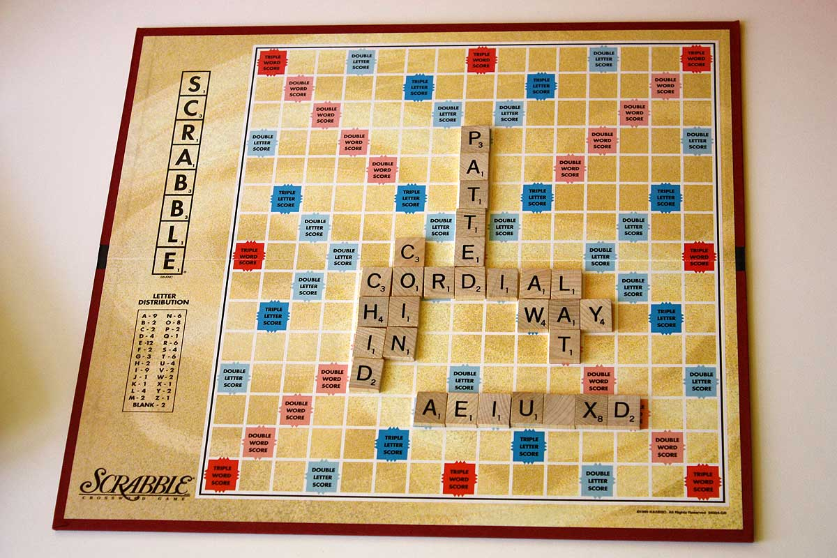 find the best scrabble word and win the book from norman wei