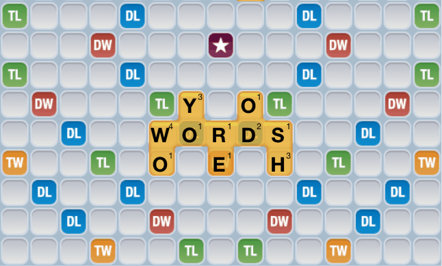 Words with Friends 2-letter words