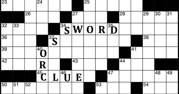 Crossword Solver | Find the right answer to the clues