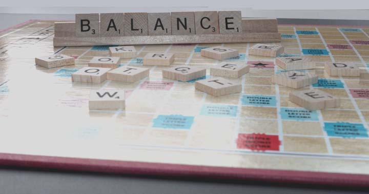 The Balance between Consonants and Vowels in Scrabble