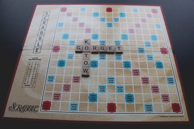 Vowels in Scrabble - A situation in a play