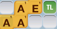 Words with only Vowels in Words with Friends
