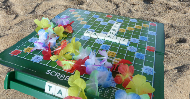 Scrabble Play in Hawaii