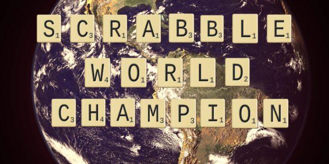 Scrabble world champion