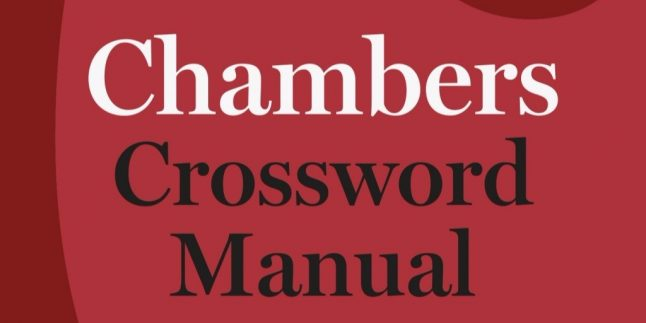 Solving Crosswords with Chamber'`s Crossword Manual