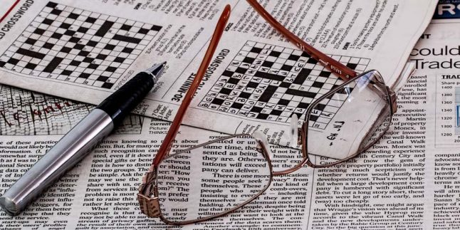 solving crosswords with pencil