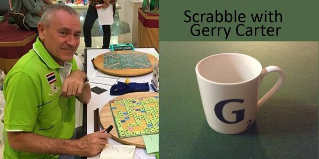 Learning Scrabble with Gerry Carter