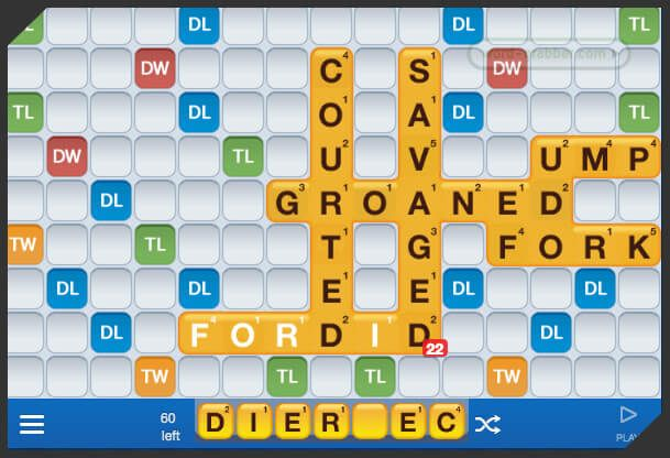 word tips for words with friends