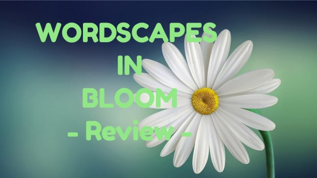Wordscapes in Bloom with Flower