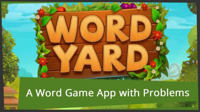 Review of Word Yard