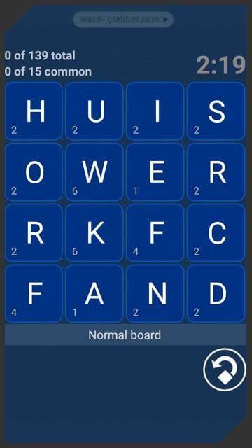 blue word game
