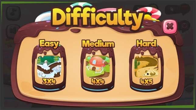 choosing the difficulty