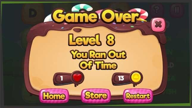 you are game over