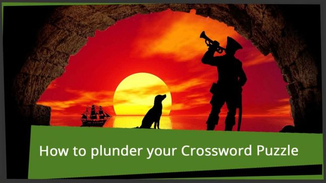 More than 20 ways to plunder in a crossword puzzle | word