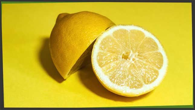 Citrus fruit lemon