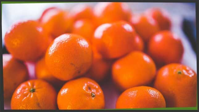 citrus fruit tangerine