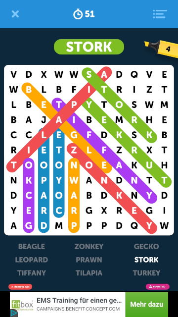 Infite_Word_Search_Puzzles_Gameplay