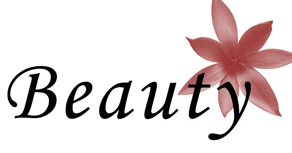 The Word Beauty In Cursive