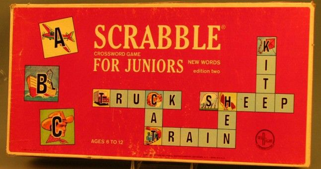 Scrabble Game for Juniors